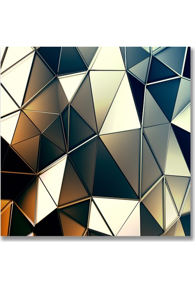 Decori̇ta Renkli Kristal Baskılı 52x60 cm Ocak Arkası