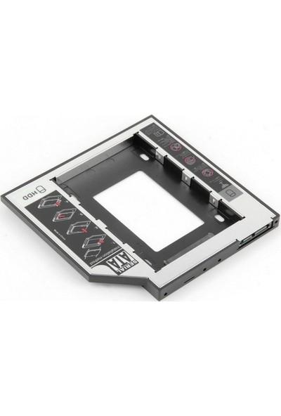 Unico 12.7 mm Sata HDD Caddy Notebook İçin Ekstra HDD Yuvası (UN-34221)