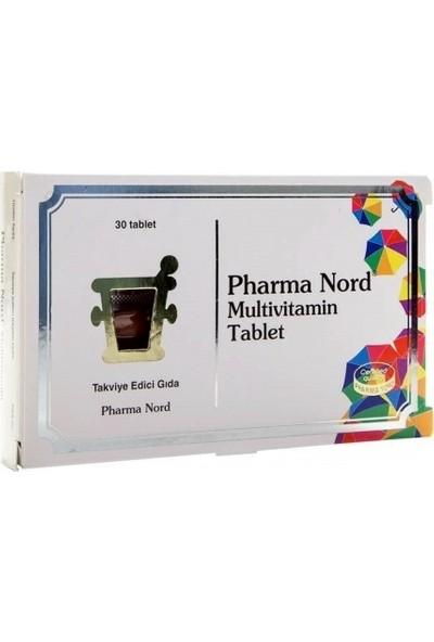 Pharma Nord Multivitamin Takviye Edici Gıda 30 Kapsül