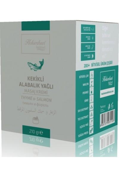 Hekimhan Kekikli & Alabalık Yağlı Masaj Kremi 210 gr