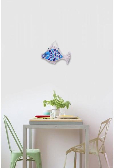 Angemiel Home Seramik Mavi Pullu Sazan Balığı No:2