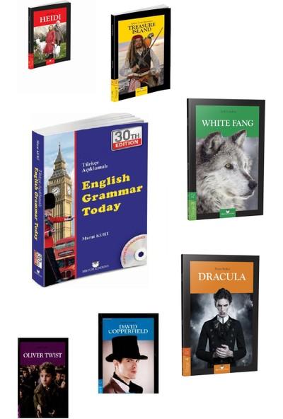 Murat Kurt English Grammar Today + İngilizce Hikayeler Stage 1-2-3-4-5-6