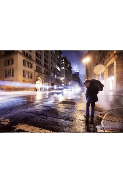 Artikel Romantik Yağmur 178 x 126 Cm Duvar Resmi