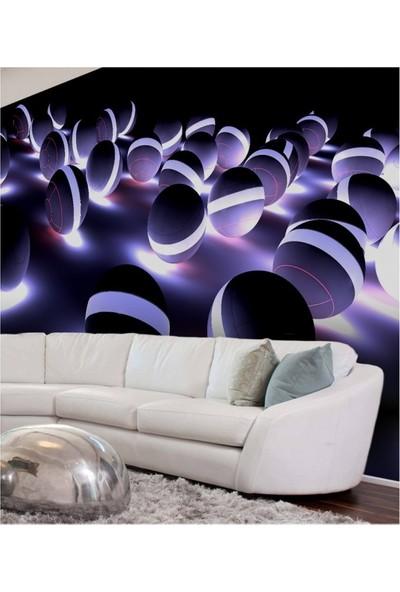 Artikel Neon Toplar 178 x 126 Cm Duvar Resmi
