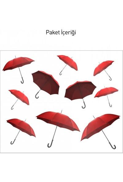 Artikel Umbrellas Dev Duvar Sticker