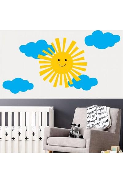 Artikel Bulutlar 102 x 70 Cm Duvar Sticker