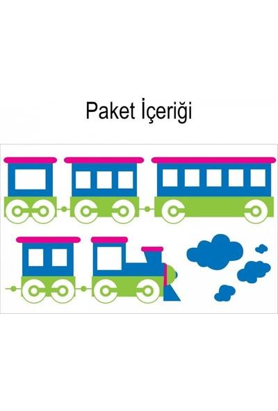Artikel Tren Duvar Sticker 145 x 43 Cm