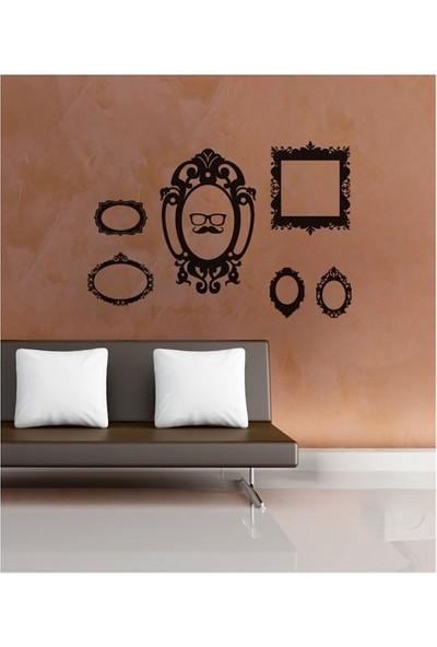 Artikel Çerçeve-2 Kadife Duvar Sticker 78 x 55 Cm