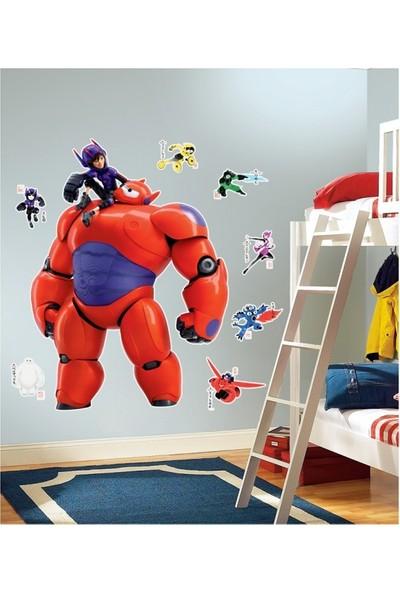 Disney Hıro & Bayma x -2 Dev Duvar Stıcker