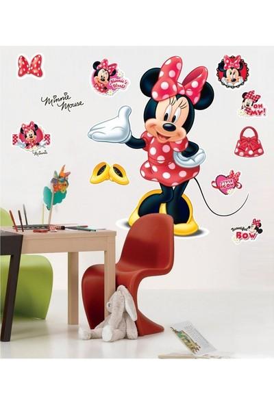 Disney Mınnıe-2 Dev Duvar Stıcker