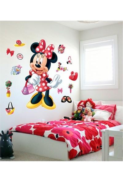 Disney Mınnıe-3 Dev Duvar Stıcker