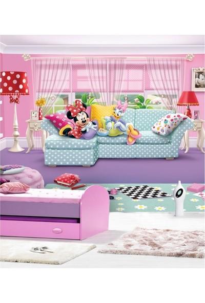 Disney Minnie & Daisy 178 x 126 Cm Duvar Resmi