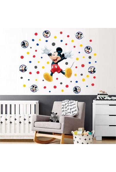 Disney Mickey Mouse 111 x 95 Cm Duvar Sticker