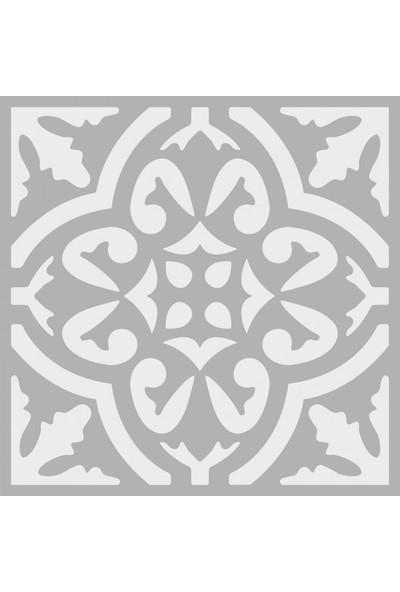 Artikel Karo 1 Stencil Tasarımı 30 x 30 Cm