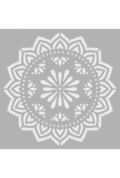 Artikel Dantel Stencil Tasarımı 30 x 30 Cm
