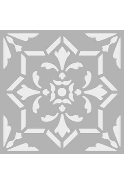 Artikel Dekor 5 Stencil Tasarımı 30 x 30 Cm