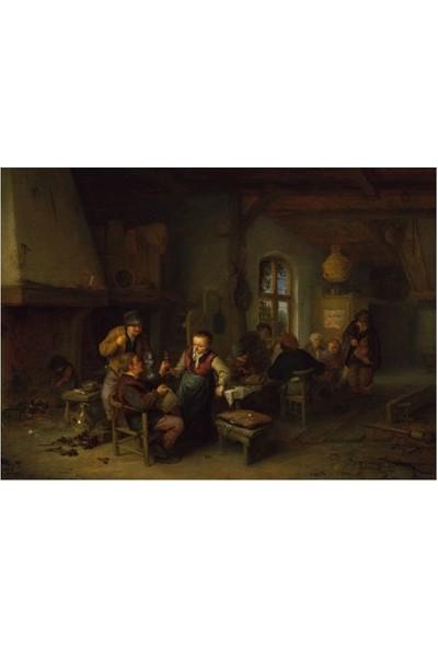 Artikel Adriaen Van Ostade - The Interior Of An Inn 50 x 70 Cm