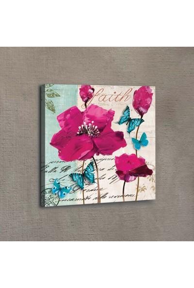 Artikel Pink Poppy 40 x 40 Cm 3D Kanvas Tablo