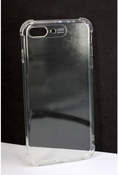 Case 4U Apple iPhone 7-8 Plus Darbe Emici Silikon Kılıf - Şeffaf