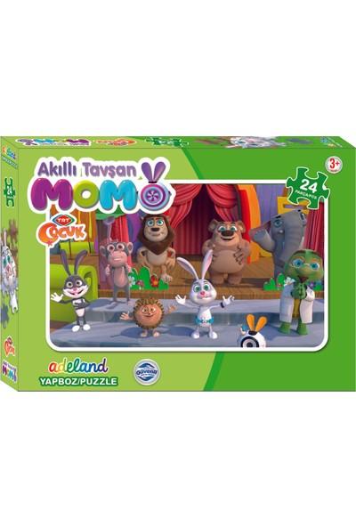 TRT Adeland Tavşan Momo Kutulu Puzzle 24'lü