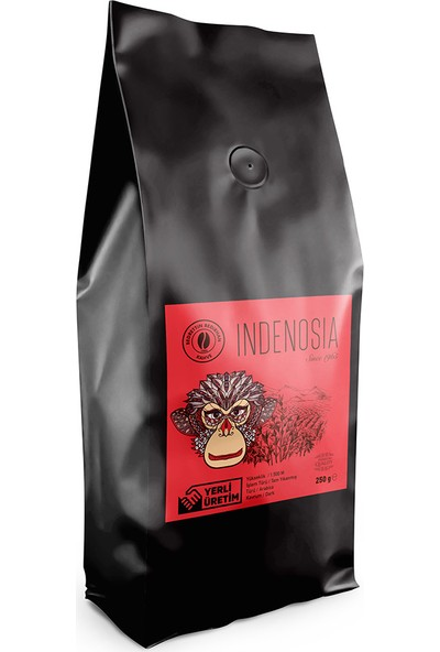 Bedirhan Indenosia Sumatra (Endenozya) Filtre Kahve 250 gr