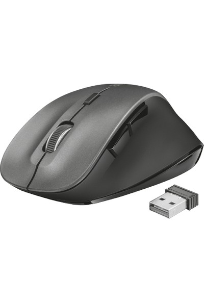 Trust 22878 Ravan Ergonomik 1600DPI Kablosuz Mouse Siyah