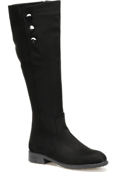 Butigo Fleur85Z S Siyah Kadın Çizme