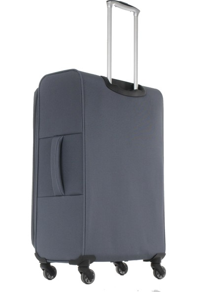 IT LUGGAGE Ultra Light Kumaş Valiz Orta Ve Kabin Boy Seti Gri 2152