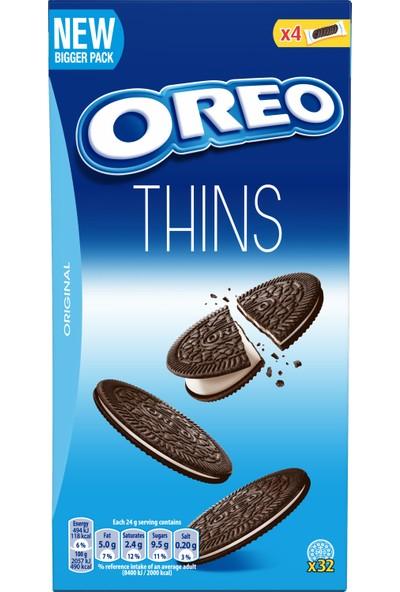 Oreo Thins Vanilya Aromalı Kakaolu Bisküvi 192 gr
