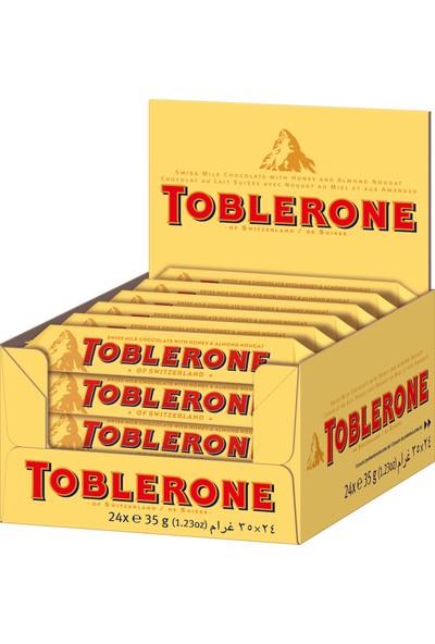 Toblerone Sütlü Çikolata 35 gr 24'lü paket