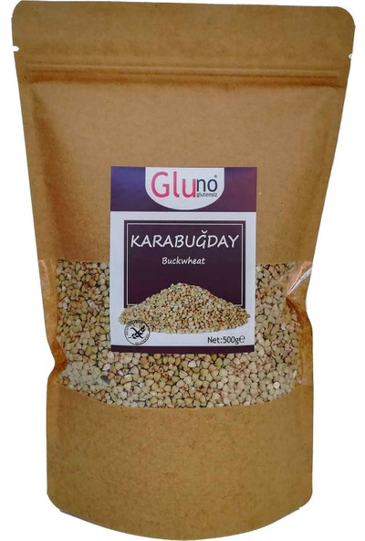 Gluno Glutensiz Çiğ Karabuğday (Tane) 500 gr
