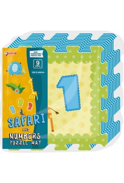 Bircan Oyuncak 9 Parça Safari Eva Mat