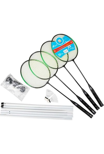 Bircan Oyuncak Badminton Set Fileli