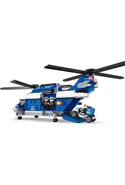 Bircan Oyuncak Bricks 599 Parça Polis Seti
