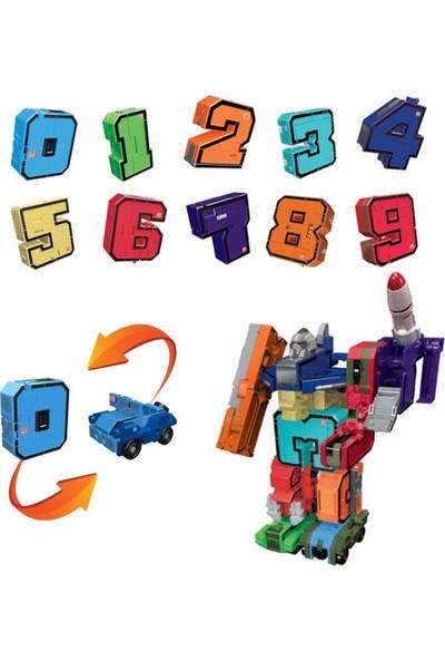 Pocket Morphers Dönüşebilen Numaralar 10'lu Set
