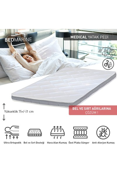 Bed Craft Bamboo Europed Medical Yatak Şiltesi
