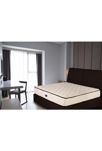 GRAND BEDS Addax Gold Tam Ortopedik Yaylı, Kuştüyü ve Keten kumaşlı Yatak