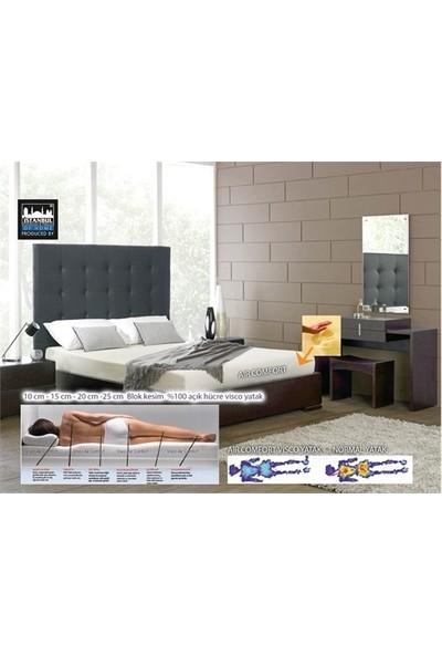 Aircomfort Visco Yatak 25 cm 160x200-2 Adet Visco Air Neck Yastık Hediye