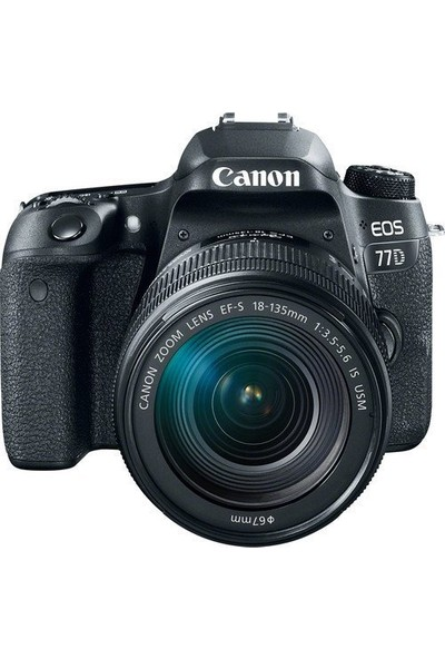 Canon Eos 77D 18-135Mm Is Usm Nano Lens Kit (Canon Eurasia Garantili)