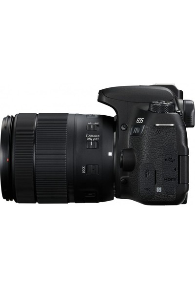 Canon Eos 77D 18-135Mm Is Usm Nano Lens Kit (Canon Eurasia Garantili)