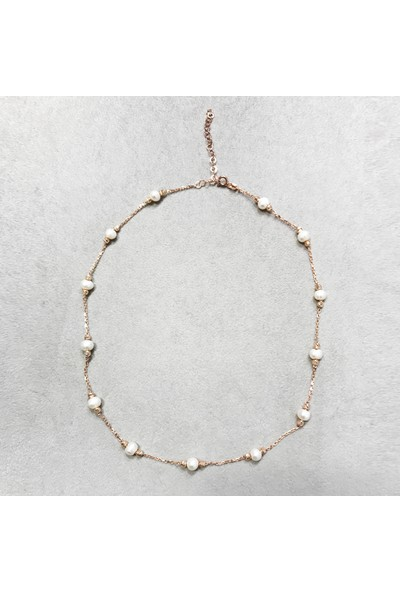 Vella Jewels İncili Kolye 45 Cm