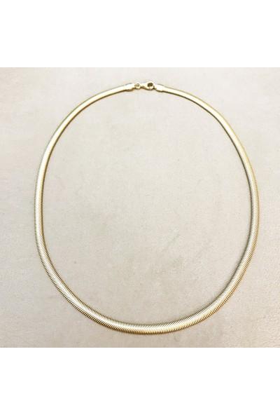Vella Jewels 1282 Balık Sırtı İtalyan Zincir 45 Cm