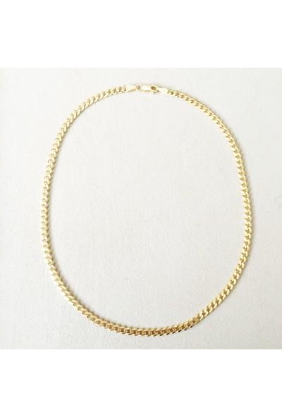 Vella Jewels Kalın Burgu Zincir 40 Cm (Gold)