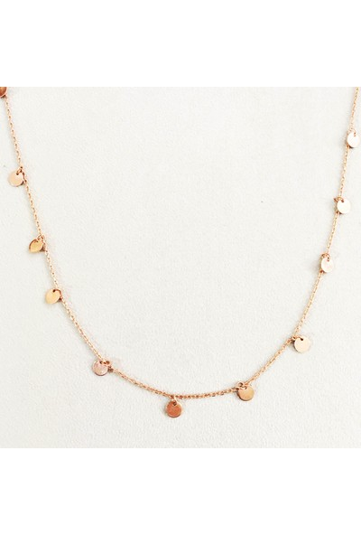 Vella Jewels Pullu Zincir Kolye 45Cm