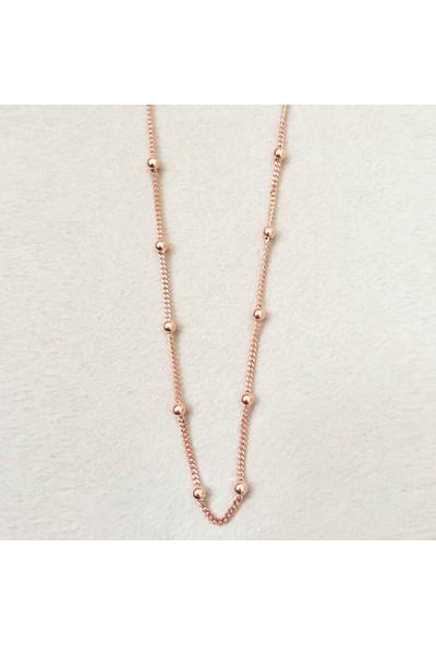 Vella Jewels Sıra Toplu Zincir 65 Cm