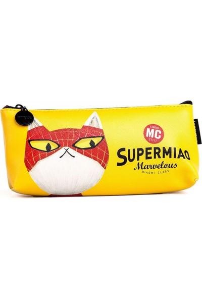 Languo Süper Kedi Kalem Kutusu - Sarı