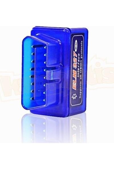 Elm 327 İnterface Bluetoothlu Arıza Tespit Cihazı 2.1 Versiyon Obd2
