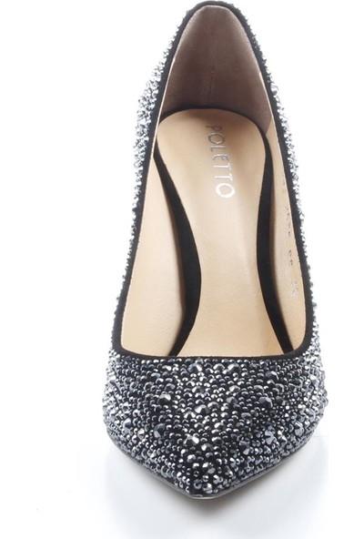 Veyis Usta Kadın Taşlı Topuklu Ayakkabı 253608
