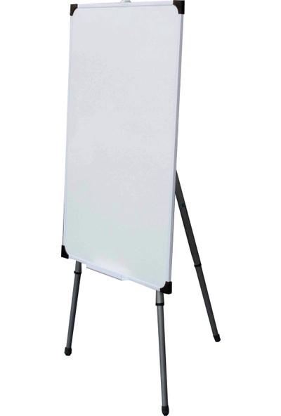A+ Teleskopik Ayaklı Ekonomik Beyaz Okul Yazı Tahtası 70x100 cm - 1 Adet Tahta Kalemi ve Yazı Tahtası Silgisi