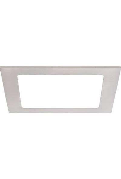 Sıva Altı Slim LED Downlight 16W Kare Beyaz Gövde 4000K IlıkBeyaz Işık Lamptıme
